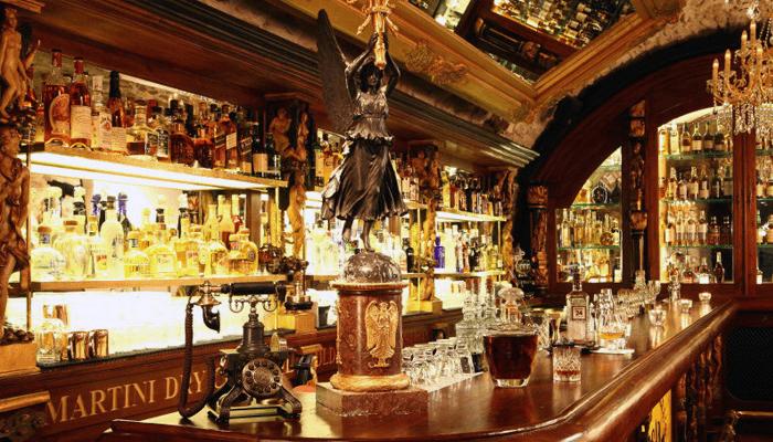 Бар Black angel's - Сигары и виски в лучших барах Праги