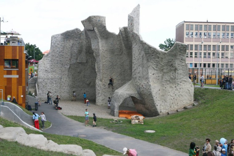 Стена для скалолазания - Комплекс Gutovka