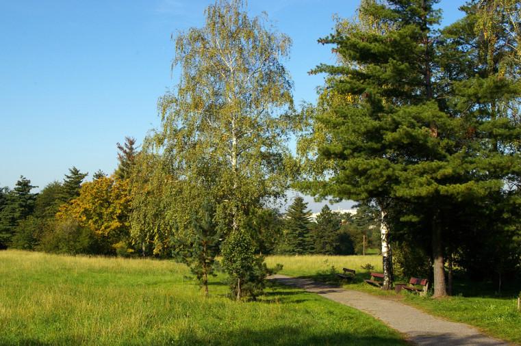 Hostivařský lesopark - Беговые трассы в Праге