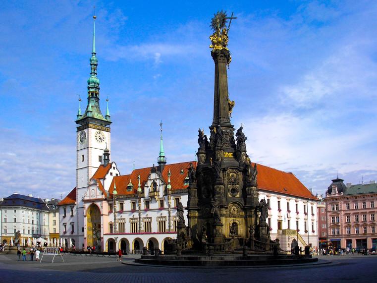 Колонна Пресвятой Троице - Чешское наследие ЮНЕСКО