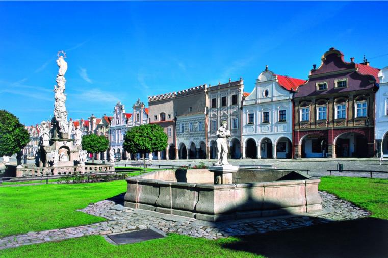 Тельч - Чешское наследие ЮНЕСКО