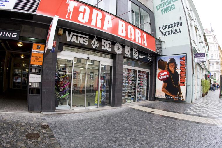 Tora Bora - Популярные скейтшопы Праги