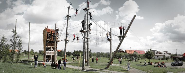 Orech - Канатные парки Праги