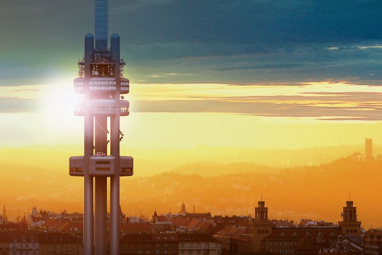 Жижковская телебашня Tower Park Praha