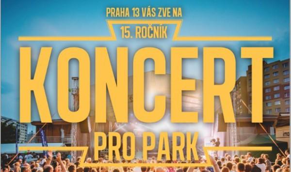 Концерт в парке на Праге 13