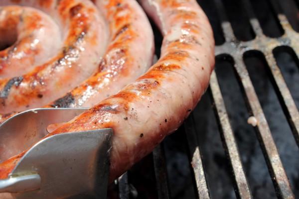 колбаски в пищевой пленке рецепт с фото