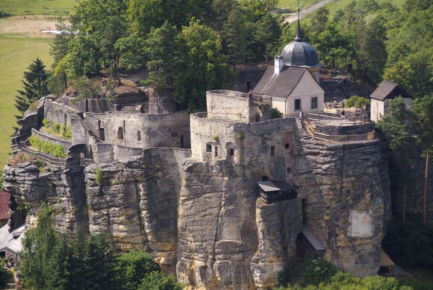 крепость Sloup