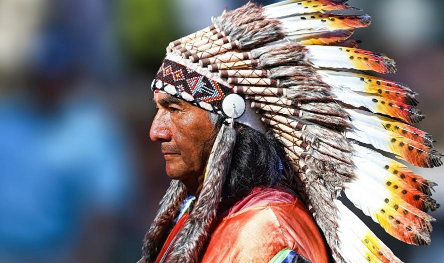 День индейцев в музее