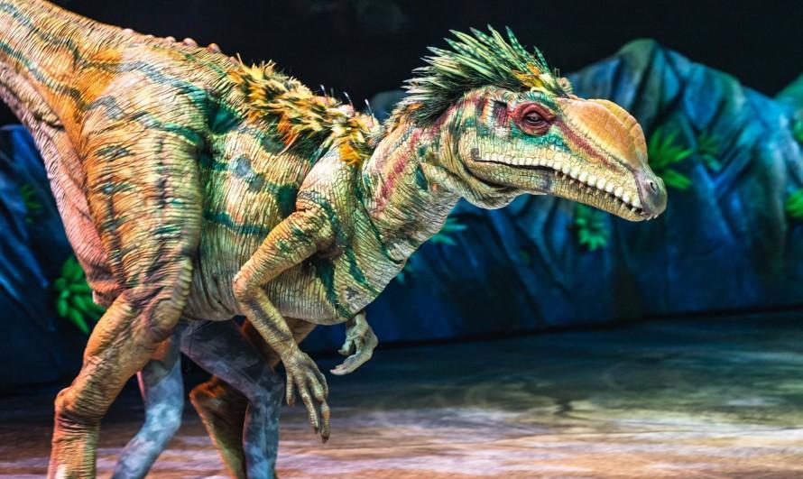 Шоу Прогулки с динозаврами 3