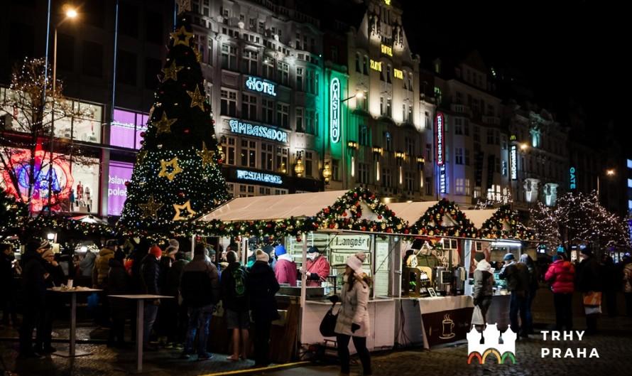 Рождественская ярмарка на Вацлавской площади 2