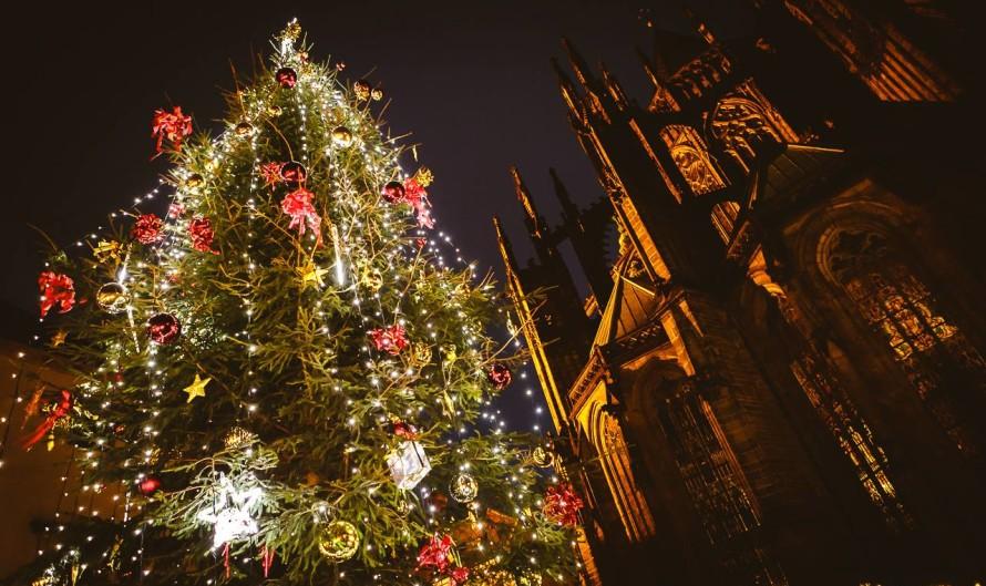 Рождественская ярмарка на Пражском граде