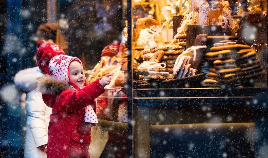Рождественская ярмарка на площади Мира