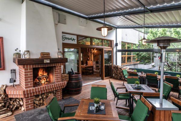 Несколько пражских ресторанов и бистро с зимними террасами